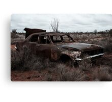Derelict in the outback Canvas Print