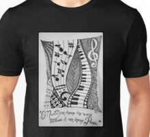 For the Love of Music Unisex T-Shirt