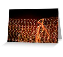 Suburb Christmas Light Series - Strut Greeting Card