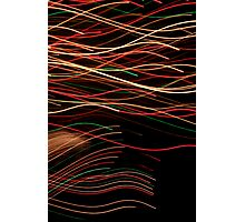 Suburb Christmas Light Series - Xmas Swim Photographic Print