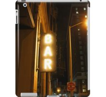 PVD BAR iPad Case/Skin
