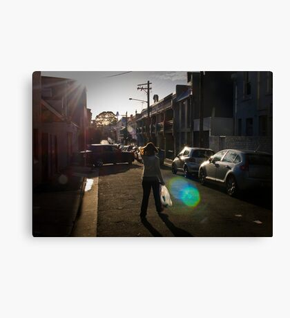 Paddington lane  Canvas Print