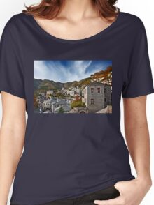 Autumn in Syrrako village - Tzoumerka mountains Women's Relaxed Fit T-Shirt