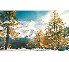 Winter in Austria Photographic Print