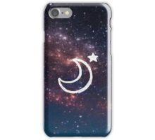 Night Time Moon iPhone Case/Skin