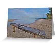 Best view - Banksia Beach Greeting Card