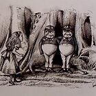 Tweedledee Tweedledum - Suspects  by John Dicandia  ( JinnDoW )