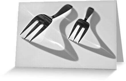 Forks by Karen Havenaar