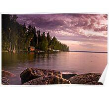 Finnish Lake Poster