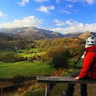 A View In The Lake District (sitting on Loughrigg) by Leon Ritchie