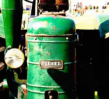 Old Field-Marshall Tractor by Christopher Cullen