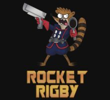 Rocket Rigby  by TheBeardedPen