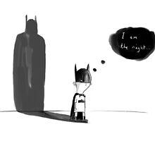 """I am the night"" by Tom Disbury"