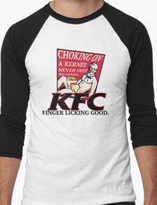 KFC: CHOKING ON A KERNEL Men's Baseball ¾ T-Shirt