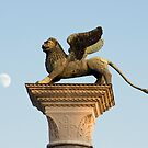Winged Lion of St. Mark, Venice, Italy by Petr Svarc