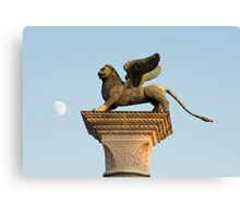 Winged Lion of St. Mark, Venice, Italy Canvas Print