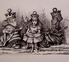 Queen Alice - Orf wid der heads! by John Dicandia  ( JinnDoW )