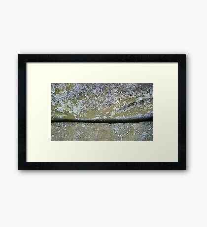 Stone One Framed Print