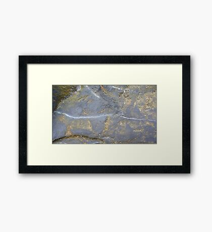 Stone Three Framed Print
