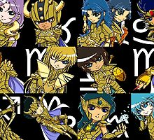 Saint Seiya: The Gold Saints #2 by addictionado