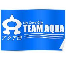 Team Aqua  Poster