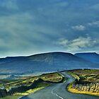 Homeward Bound ~ Ingleton Road, The 3 Peaks, by Sandra Cockayne
