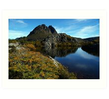 Little Horn above Twisted Lakes, Cradle Mountain Art Print