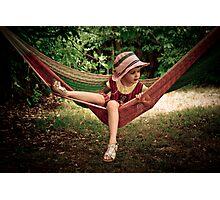 ...hammock II... Photographic Print