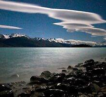 Night Time Photography, Mt Cook by Michael Treloar