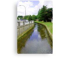 The River Medina, Newport Canvas Print