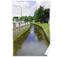 The River Medina, Newport Poster