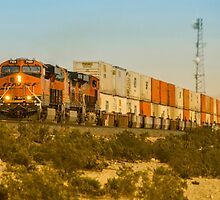 Double Deck Freight  by Rob Hawkins