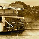 Paddle steamers of yesteryear by Ali Brown