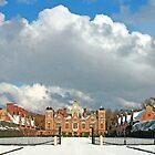Winter at Blickling Hall by Beverley Barrett