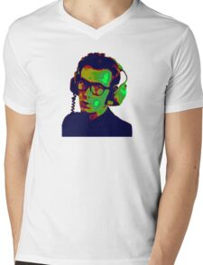 Elvis Costello T-Shirt Mens V-Neck T-Shirt