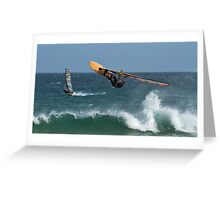 Looking For Davy Jones Locker - Elouera Beach - Sydney - Australia Greeting Card