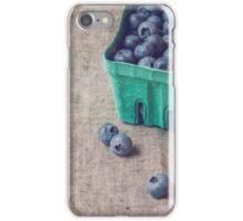 Summer Blueberries iPhone Case/Skin