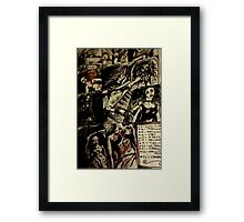 The Alternative Acts Of Sex Murder. Framed Print
