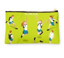 Students Set - Isometric People Studio Pouch