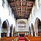 St Oswald's Church Interior ~ Askrigg ~ by Sandra Cockayne