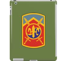 2nd (501st) Sustainment Brigade (United States) iPad Case/Skin