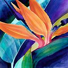 Bird of Paradise ( Strelitzia) by artbyrachel