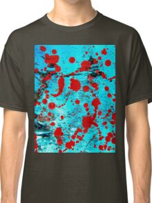 Red and blue. Watercolor Classic T-Shirt