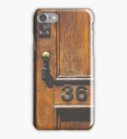 no. 36 iPhone Case/Skin