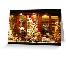 Christmas Goodies in Siena-Tuscany Greeting Card