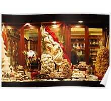 Christmas Goodies in Siena-Tuscany Poster