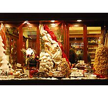 Christmas Goodies in Siena-Tuscany Photographic Print