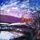 'Winter, Bolton Abbey' by Martin Williamson (©cobbybrook)