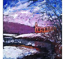'Winter, Bolton Abbey' Photographic Print