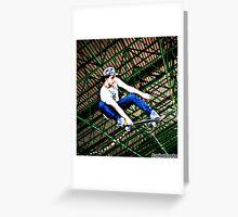 Skate . Greeting Card